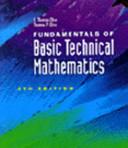 Fundamentals of Basic Technical Mathematics