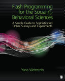 Flash Programming for the Social & Behavioral Sciences