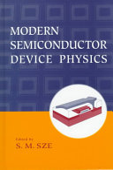 Modern Semiconductor Device Physics