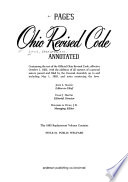 Page's Ohio Revised Code Annotated