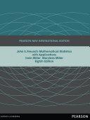 John E  Freund s Mathematical Statistics with Applications  Pearson New International Edition Book