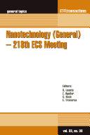 Nanotechnology (General) – 218th ECS Meeting