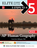 5 Steps to a 5  AP Human Geography 2022 Elite Student Edition Book PDF