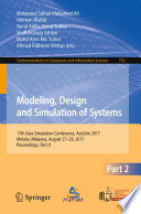 Modeling  Design and Simulation of Systems
