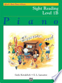 Alfred s Basic Piano Course  Sight Reading Book 1B