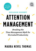 Attention Management Extended Excerpt Pdf/ePub eBook