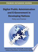 Digital Public Administration And E Government In Developing Nations Policy And Practice