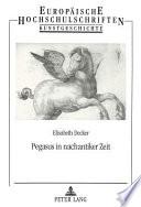 Pegasus in nachantiker Zeit