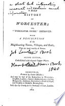A Brief History of Worcester