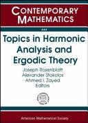 Topics in Harmonic Analysis and Ergodic Theory Pdf/ePub eBook