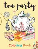 Tea Party Coloring Book