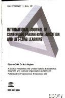 International Journal of Continuing Engineering Education