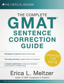 The Complete GMAT Sentence Correction Guide Book