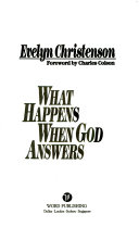 What Happens When God Answers