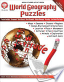 World Geography Puzzles  Grades 6   12 Book