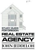 Study Guide for Oregon Real Estate Agency Book PDF