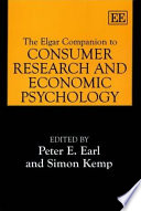 The Elgar Companion To Consumer Research And Economic Psychology Book PDF