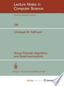 Group-Theoretic Algorithms and Graph Isomorphism