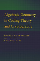 Algebraic Geometry in Coding Theory and Cryptography