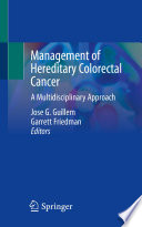Management of Hereditary Colorectal Cancer Book