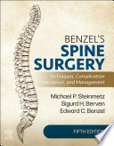 Benzel s Spine Surgery E Book