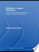 Pakistan Japan Relations