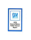 General Motors Public Interest Report Book