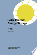 Solar Thermal Energy Storage