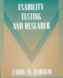Usability Testing and Research Book
