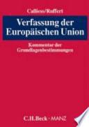 Verfassung der Europäischen Union
