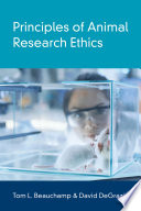 link to Principles of animal research ethics in the TCC library catalog