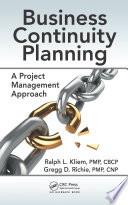 Business Continuity Planning Book PDF