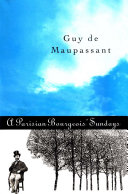 Pdf Parisian Bourgeois' Sunday and Other Stories Telecharger