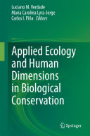 Applied Ecology and Human Dimensions in Biological Conservation Pdf/ePub eBook