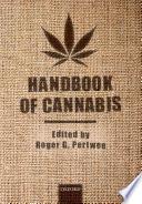 Handbook of Cannabis Book