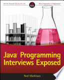 Java Programming Interviews Exposed Book