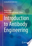 Introduction To Antibody Engineering Book PDF