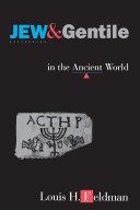 Jew and Gentile in the Ancient World Pdf/ePub eBook