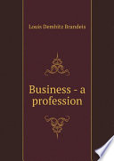 Business - a profession