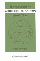 An Introduction to Agricultural Systems Book