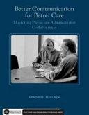 Better Communication For Better Care