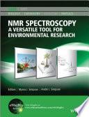 NMR Spectroscopy  : A Versatile Tool for Environmental Research