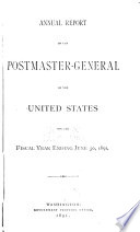 Annual Reports  Report of the Postmaster General  Miscellaneous Reports