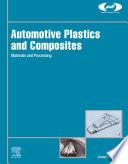 Automotive Plastics and Composites Book