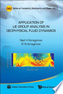 Applications Of Lie Group Analysis In Geophysical Fluid Dynamics Book PDF