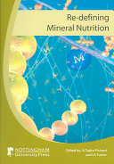 Re defining Mineral Nutrition