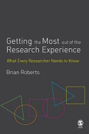 Getting the Most Out of the Research Experience