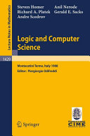 Logic and Computer Science