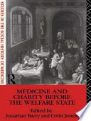 Medicine and Charity Before the Welfare State Book