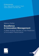 Excellence in Innovation Management